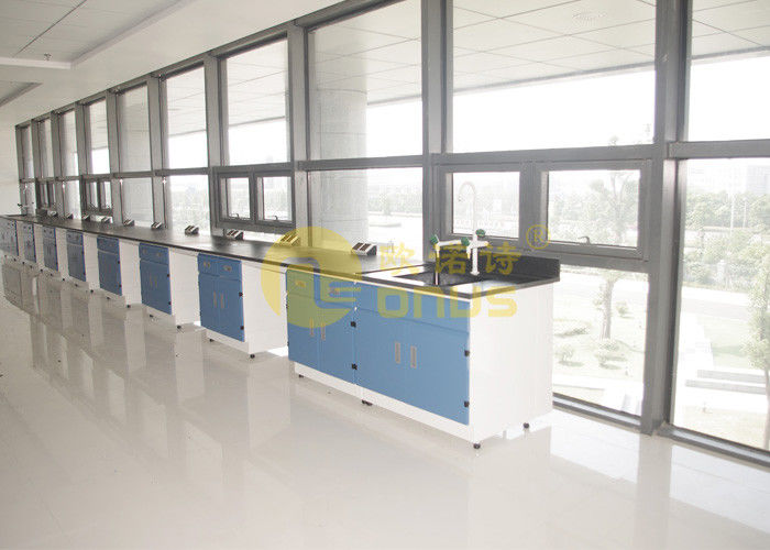 2480 * 1830mm epoxy resin worktop matte surface durability , lab benches
