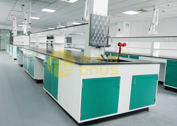 Epoxy Resin Basin Station chemical resistant countertops / lab island bench
