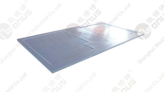 Ice Blue Epoxy Resin Countertop With Resist Heat And Corrosion for Laboratory Furniture